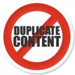 contenuti duplicati